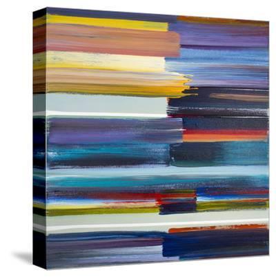 Treasured Time II-Joan Davis-Stretched Canvas Print