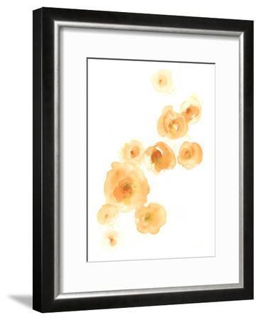 Falling Blossoms I-June Erica Vess-Framed Art Print