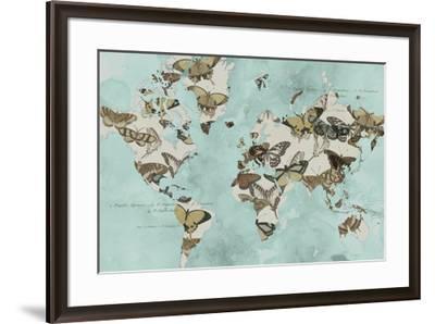 Migration of Butterflies-Jennifer Goldberger-Framed Art Print