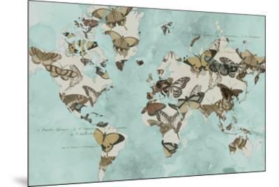 Migration of Butterflies-Jennifer Goldberger-Mounted Art Print