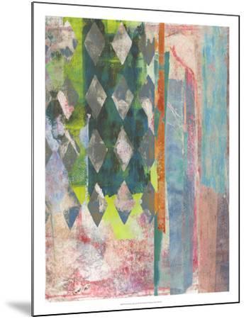 Chartreuse Afternoon II-Naomi McCavitt-Mounted Art Print