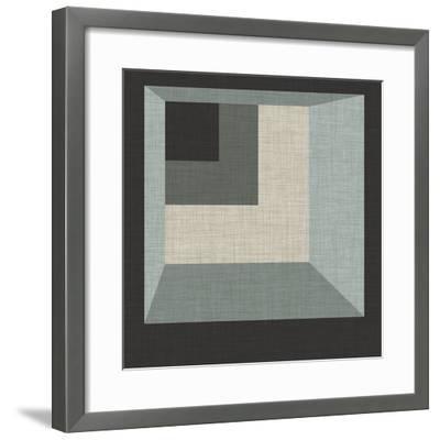 Geometric Perspective I-June Erica Vess-Framed Giclee Print