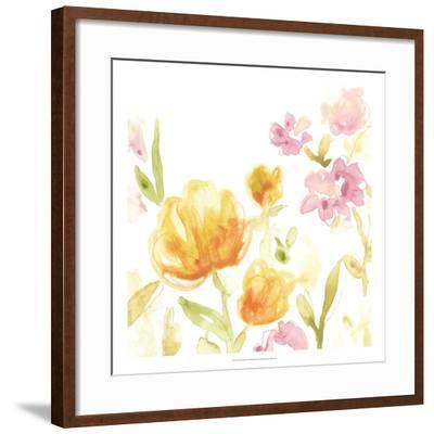 Floral Song I-June Erica Vess-Framed Giclee Print