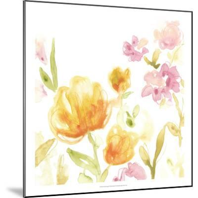 Floral Song I-June Erica Vess-Mounted Giclee Print