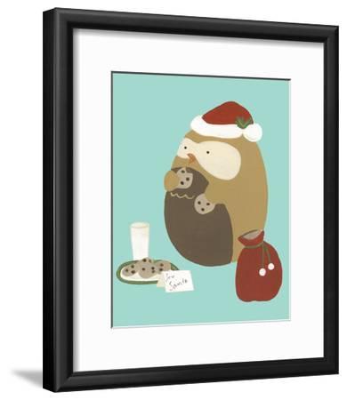 Happy Owlidays IX-June Erica Vess-Framed Art Print