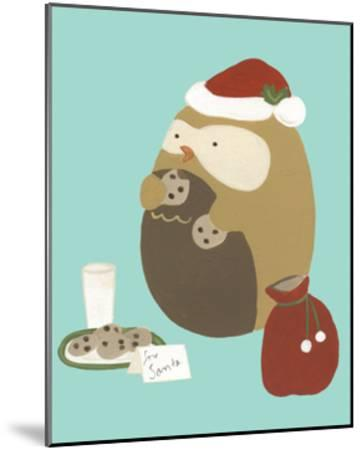 Happy Owlidays IX-June Erica Vess-Mounted Art Print