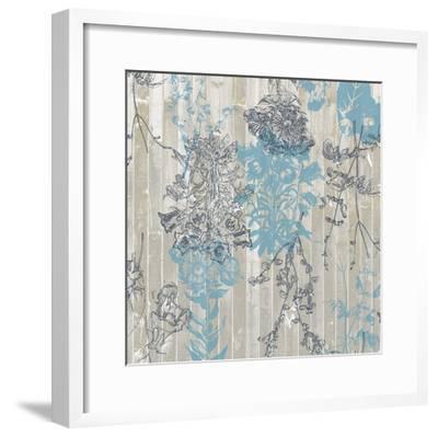 Flower Pattern II-Jennifer Goldberger-Framed Art Print