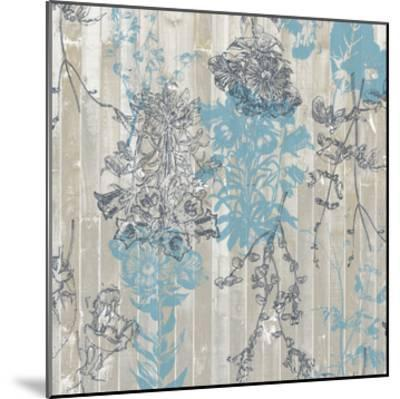 Flower Pattern II-Jennifer Goldberger-Mounted Art Print
