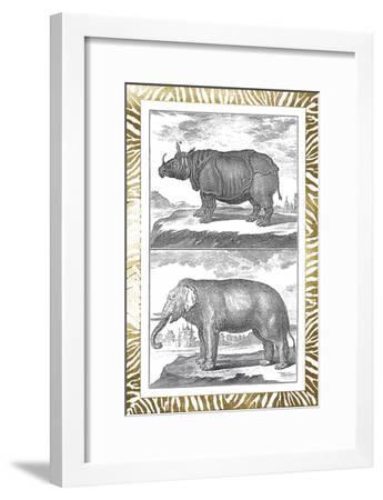 Gilded Safari I-Denis Diderot-Framed Art Print