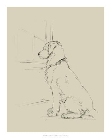 Waiting for Master IV-Ethan Harper-Framed Giclee Print