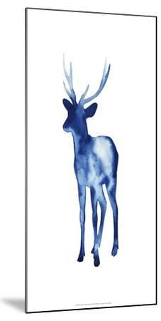 Ink Drop Rusa Deer II-Grace Popp-Mounted Art Print