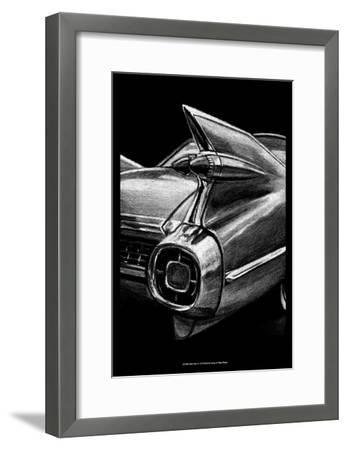 Retro Fins I-Ethan Harper-Framed Art Print