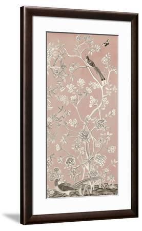 Blush Chinoiserie I-Naomi McCavitt-Framed Giclee Print