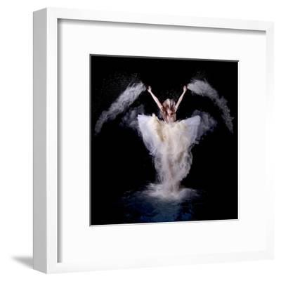 Powder Rush-Pauline Pentony Ba-Framed Art Print