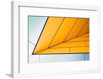 yellow dart-Linda Wride-Framed Art Print