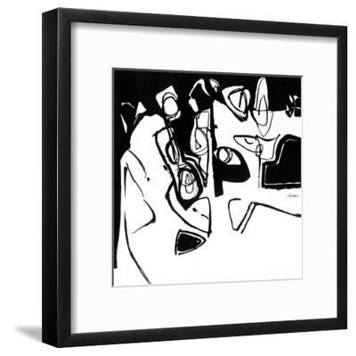 Black 7-Diane Lambin-Framed Art Print