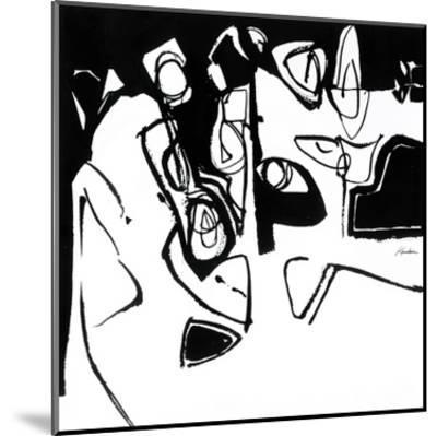Black 7-Diane Lambin-Mounted Art Print
