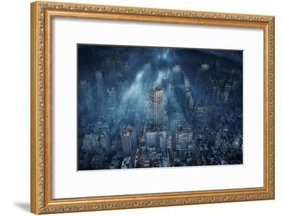 NYC-Leif L?ndal-Framed Art Print