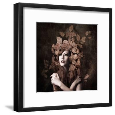 Artemis, daughter of Zeus-Faizal Besari-Framed Art Print