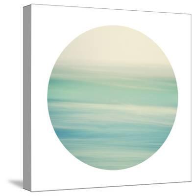 Coastal Hush - Sphere-Irene Suchocki-Stretched Canvas Print
