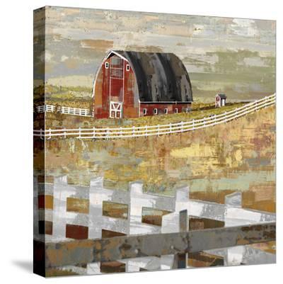 Long Barn - Paddock-Mark Chandon-Stretched Canvas Print