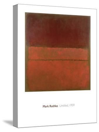 Untitled, 1959-Mark Rothko-Stretched Canvas Print