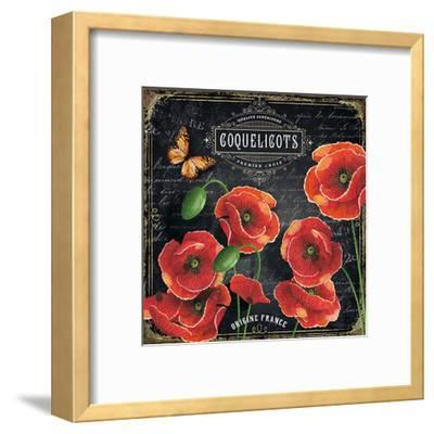 Coquelicots France-Bruno Pozzo-Framed Art Print