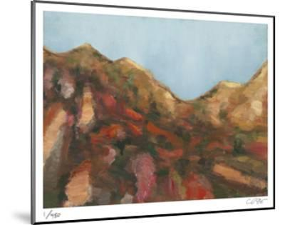 Rocks and Sky-Carl Stieger-Mounted Limited Edition