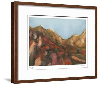 Rocks and Sky-Carl Stieger-Framed Limited Edition