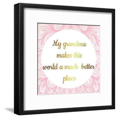 Grandmas World-Jelena Matic-Framed Art Print