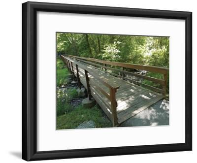 Eddy's Bridge-Unknown Unknown-Framed Art Print