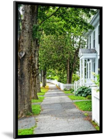 Country Town Sidewalk-Suzanne Foschino-Mounted Art Print