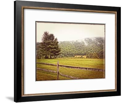 Morning Mountain Smoke Vintage-Suzanne Foschino-Framed Art Print