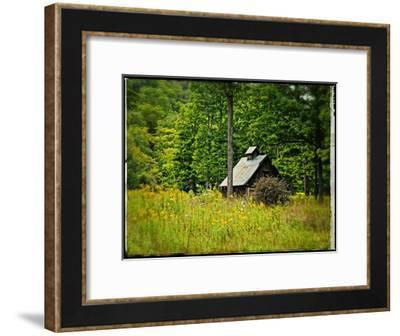Country Barn 1-Suzanne Foschino-Framed Art Print
