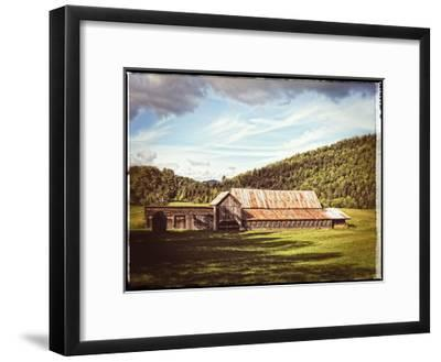 Country Barn 3 Vintage-Suzanne Foschino-Framed Art Print