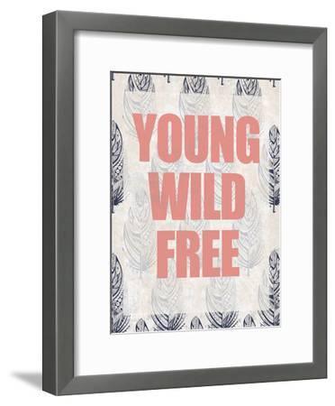 Young Wild Free-Kimberly Allen-Framed Art Print