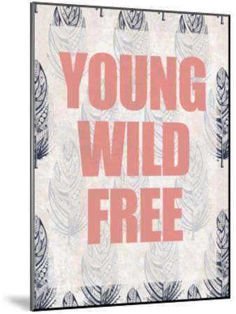 Young Wild Free-Kimberly Allen-Mounted Art Print