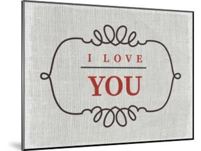Love You-Kimberly Allen-Mounted Art Print