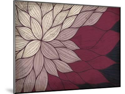 Layers of Petals-Kimberly Allen-Mounted Art Print