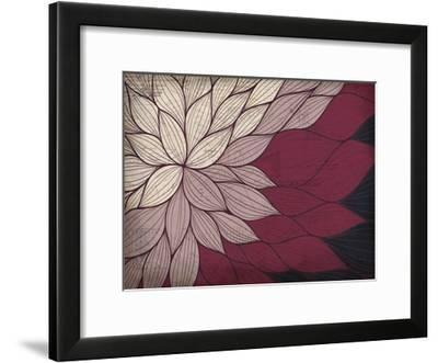 Layers of Petals-Kimberly Allen-Framed Art Print