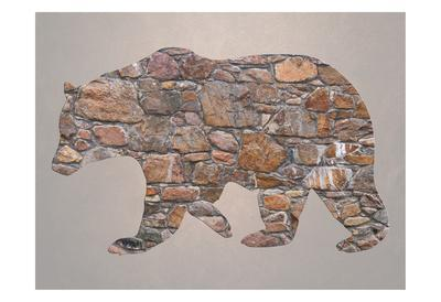 Bear Woods-Sheldon Lewis-Framed Art Print