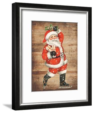 Santa Baby-Sheldon Lewis-Framed Art Print