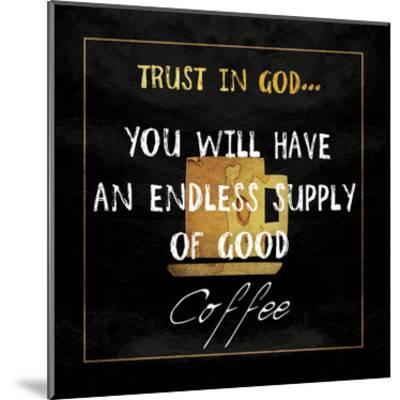God's Coffee-Sheldon Lewis-Mounted Art Print