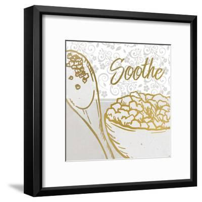 Spa Day 3-Kimberly Allen-Framed Art Print