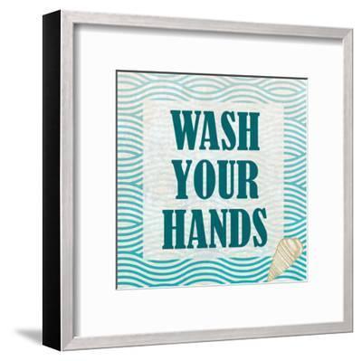 Bath Rules 3-Kimberly Allen-Framed Art Print