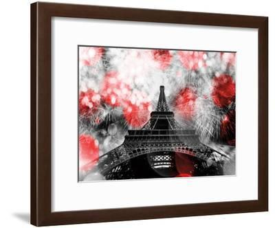 Underneath The Eifflel 2-Tracey Telik-Framed Art Print
