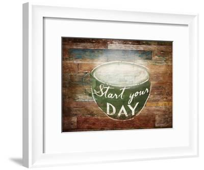 Start Your Day-OnRei-Framed Art Print