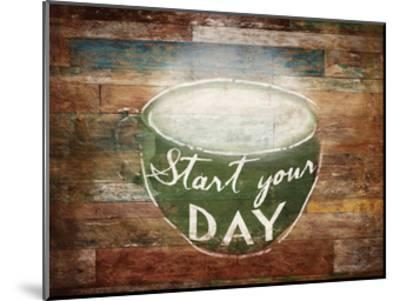 Start Your Day-OnRei-Mounted Art Print