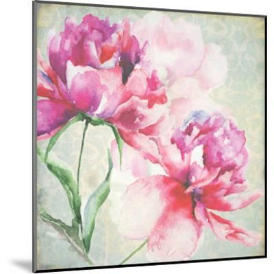Lovely Peony Blossoms-R^ Jersova-Mounted Art Print