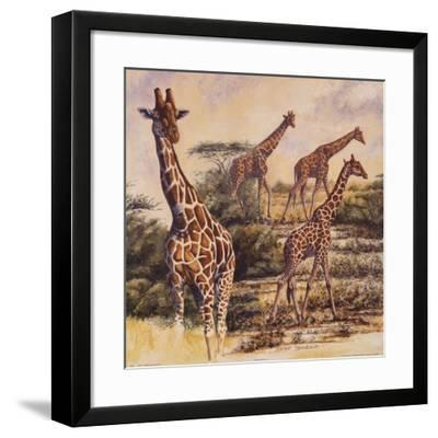 Safari III-Gary Blackwell-Framed Art Print